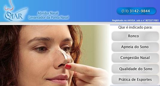 qiar abridor nasal