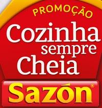 PROMOÇÃO SAZÓN COZINHA SEMPRE CHEIA, WWW.SEMPRESAZON.COM.BR